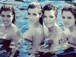 Are Kardashian Sisters Topless In Pool