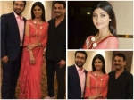 Shilpa Shetty Red Hot In Tarun Tahiliani Saree