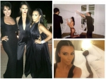 Kim Kardashian Topless Birthday Present For Givenchy