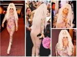 Lady Gaga Nude Diamond Jumpsuit Raises Brows