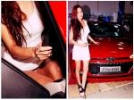 Soap Star Sara Khan Wardrobe Malfunction In Lwd