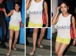 Yami Gautam Looks Cute In Yellow Shorts