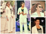 Priyanka Chopra In White Armani Suit
