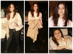 Alia Bhatt Keeps It Casual In T Shirt Leggings