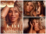 Kim Kardashian Poses Nude For Gq Magazine Pics