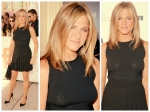 Jennifer Aniston Shows Nips In Style At Toronto Film Festival