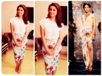 Parineeti Chopra Looks Red Hot In Forever New Dress