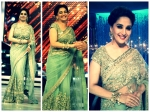 Madhuri Dixit Sheer Beauty In Sabyasachi Saree