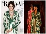 Anushka Sharma Gothic Look On Harpers Bazaar Cover