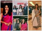 Priyanka Chopra In Two Traditional Outfits