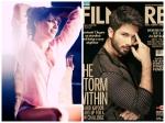 Bipasha Basu Shahid Kapoor Burn Filmfare Magazine