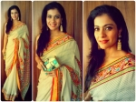 Kajol Wows In Abu Sandeep Saree