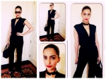 Bold Beautiful Sonam Kapoor In Shiny Jumpsuit