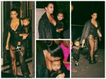 Kim Kardashian And Baby North Go Sheer In Givenchy