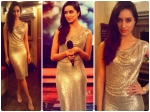 Shraddha Kapoor Glitters In Naeem Khan Dress