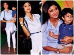 Shilpa Shetty Looks Classy In Handm