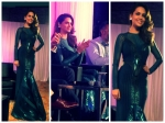 Esha Gupta In Dramatic Amit Aggarwal Gown