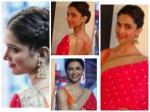 Deepika Padukone Fiery Red Looks