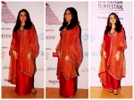 Fiesty Red Hot Preity Zinta In Sabyasachi