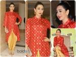 Karisma Kapoor Looks Red Hot In Swati Vijaivargie