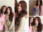 Twinkle Khanna Beams In Sabyasachi
