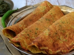 Mouthwatering Egg Besan Dosa For Breakfast