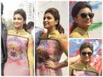 Parineeti Looks Stylish In Nida Mahmood