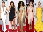 Celebrities Walk The Red Carpet At 2014 American Music Awards
