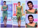 Priyanka Chopra Minty Green Sheath Dress Toni Maticevski