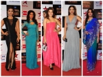 Bollywood Starlets At Big Entertainment 2014 Awards