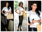 Shriya Saran Looks Killer In Edgy Style