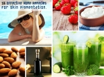 Effective Home Remedies For Skin Pigmentation