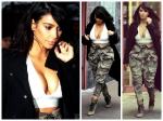 Sans Bra Again Kim Kardashian Flaunts Her Assets
