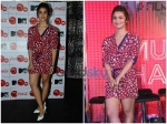 Alia Bhatt And Anusha In Bright Red Attires At Coke Meet
