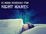 Twenty Home Remedies For Night Mares