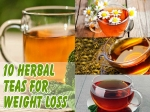 Ten Best Herbal Teas For Weight Loss