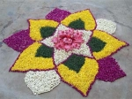 Rangoli Designs & Ideas For Ugadi Decoration