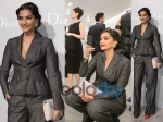 Stylish Sonam Kapoor At Dior Exhibition