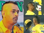 MS Dhoni Sports A New 'Mohawk' Hairstyle