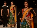 WIFW SS'14: Raima Sen Walks For Joy Mitra