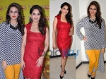 Huma Qureshi & Madhuri Dixit At Dedh Ishqiya Promotion
