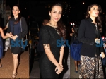 Kareena, Karisma & Malaika Snapped On Christmas