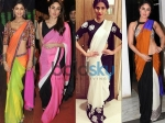 Colour Block Sarees For Stylish Women