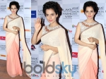 LFW14: Kangana Ranaut In Manish Malhotra Saree