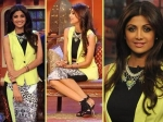 Shilpa Blooming In Yellow On Comedy Nights