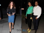Shilpa Shetty Shows Tummy On A Date Night