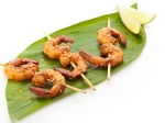 Lasooni Jhinga: Grilled Garlic Prawns