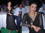 Shruti Haasan Stuns In Black Maxi Dress: Race Gurram Success Meet
