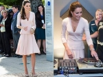 Kate Middleton DJs In Alexander Mcqueen Dress