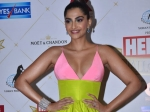 Sonam Kapoor Ahuja's Pink & Green Gown Didn't Quite Suit Her